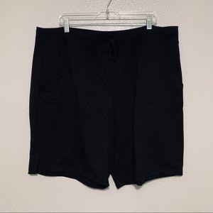 Athletic works black shorts